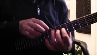 Elior Edri tapping guitar