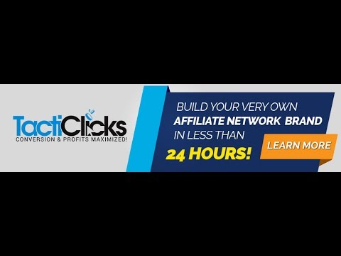 How I Opened my own Affiliate Network Overnight
