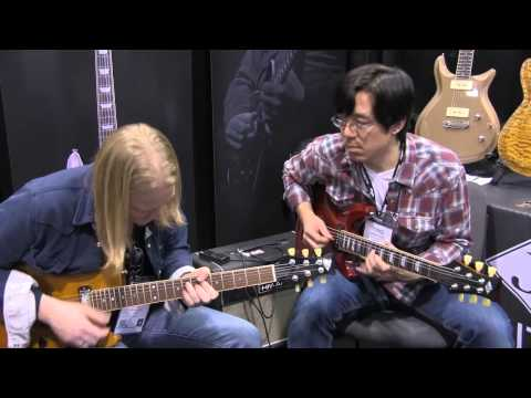 Conversation in Blues witn Matt Schofield at JJ Guitars NAMM 2014