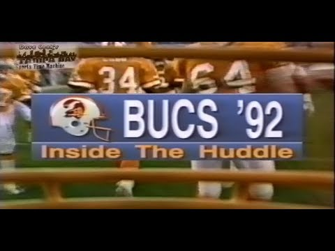 1992 Tampa Bay Buccaneers Pre-Season Special-Full Program