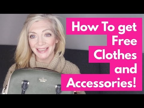 How To Get Free Clothes And Accessories