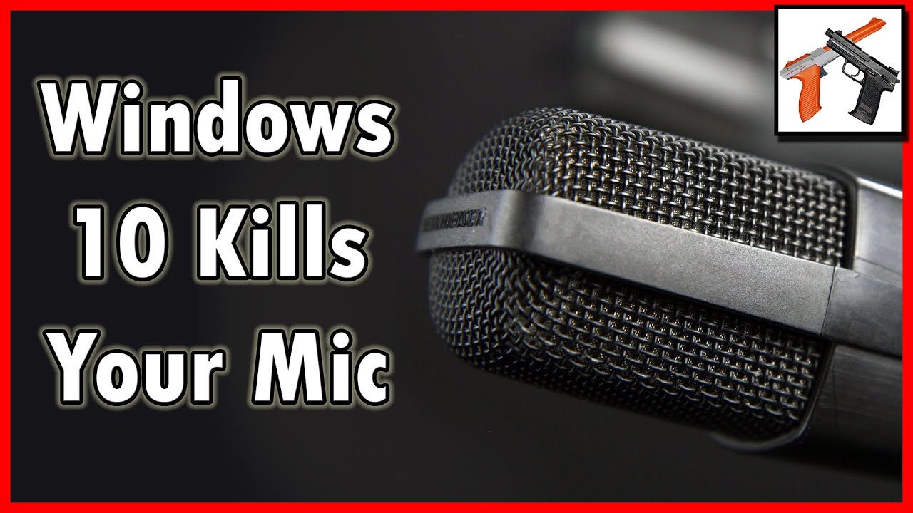 windows 10 8 breaks your usb mic quiet microphone problems youtube. Black Bedroom Furniture Sets. Home Design Ideas