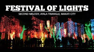 Christmas Festival of Lights 2017 [Second Medley] - Ayala Triangle