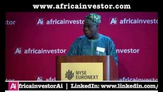 H.E Olusegun Obasanjo, 12th President, Federal Republic of Nigeria, Institutional Investment Summit