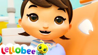 Wobbly Tooth Song! | Lellobee: Nursery Rhymes & Baby Songs | Learning Videos For Kids
