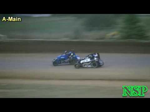 July 2, 2016 Nw Focus Midget Series A-Main Grays Harbor Raceway