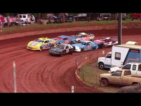 Winder Barrow Speedway Stock Four A's Feature Race 7/28/18