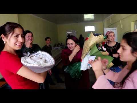 Выписка Аслана. Дедушка обмывает рождение внука