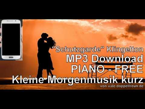 Klingelton PIANO gratis - erhellender Smartphone Handy Melodie kostenlos als MP3 Download