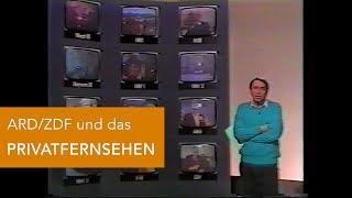 Damals in den 80ern: Die bösen Privatsender