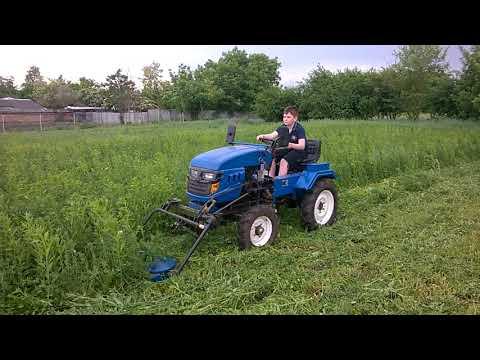 Косим траву на Русиче т-12