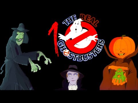 Top 10 The Real Ghostbusters Scary Episodes