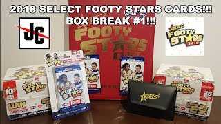 2018 Footy Stars Box Break #1 | AFL Select Trading Cards