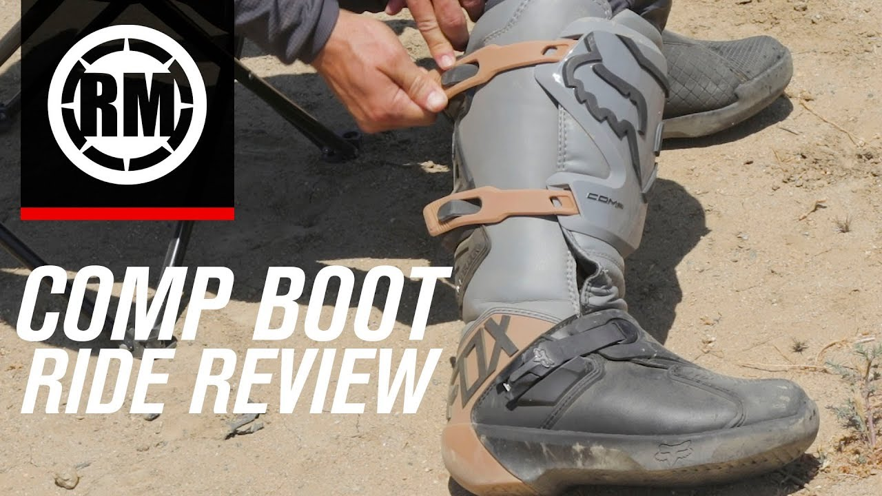 1240b8b5535 2019 Fox Racing Comp Motocross Boots | Ride Review