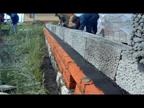 Дом под заказ #2. Начинаем кладку цоколя и стен.из YouTube · Длительность: 4 мин20 с
