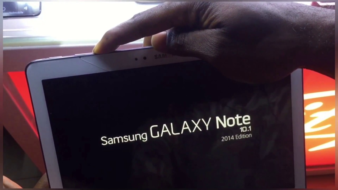 How to hard reset Samsung Galaxy Note 101 YouTube