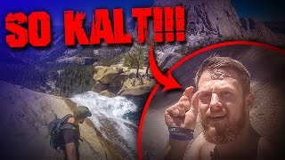 SO KALT!!! USA Yosemite National Park Outdoor Bushcraft Trekking Wandern Survival deutsch