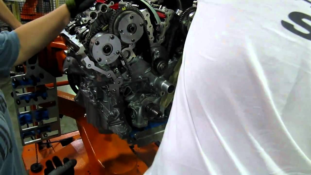 2011 Taurus Sho Timing Chain Installation Youtube