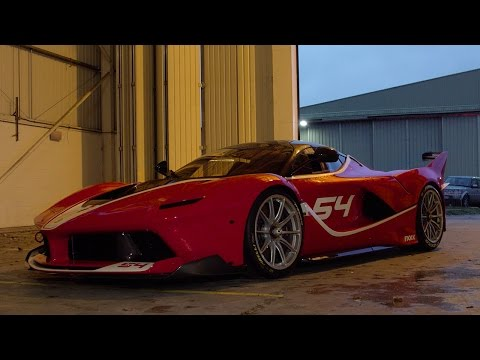 Ferrari FXX K Walkaround - Top Gear - BBC