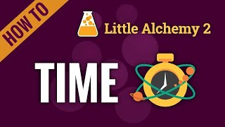How to make TÏME in Little Alchemy 2