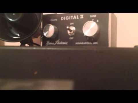 My Digital II Playing Turkey in the Straw