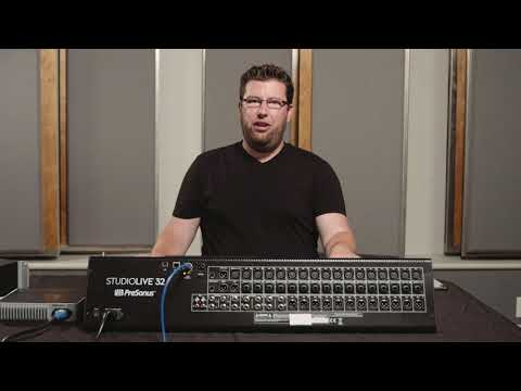 StudioLive for Marching Band: Organizing your Mix