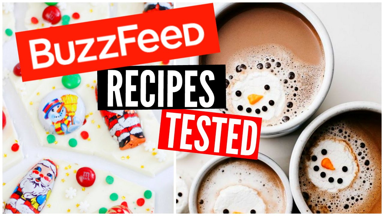 Buzzfeed food recipes tested diy christmas treats recipes youtube forumfinder Images