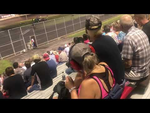 Mike Houseman Jr. 4L Boone Speedway Hawkeye Challenge 1st place finish sprint car class
