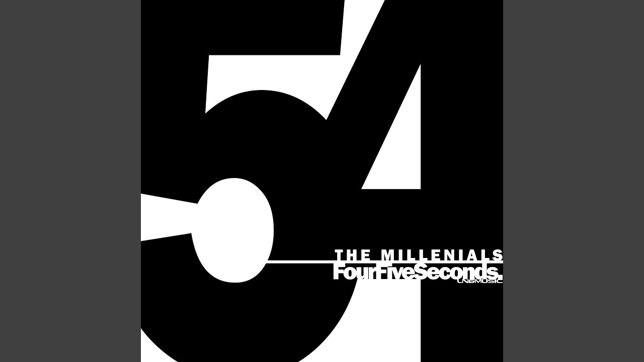 Fourfiveseconds (Bass Rayders Remix Edit) - The Millennials