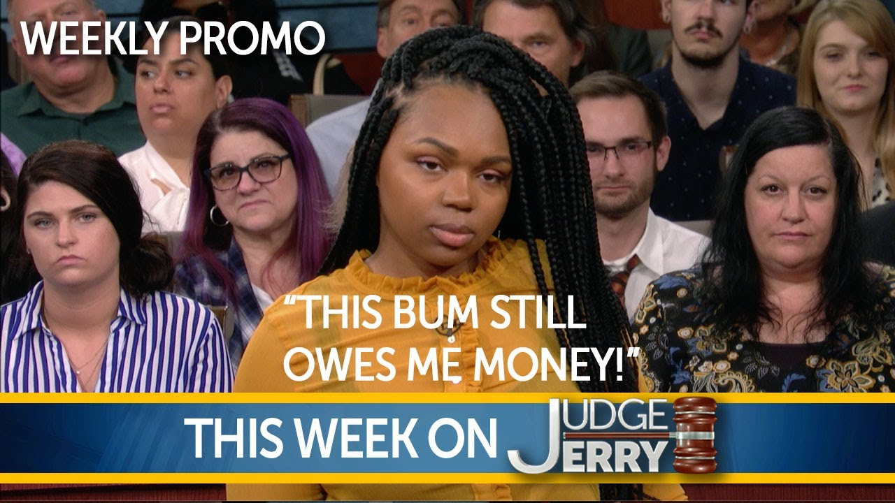 THIS WEEK ON JUDGE JERRY!   JULY 5, 2020