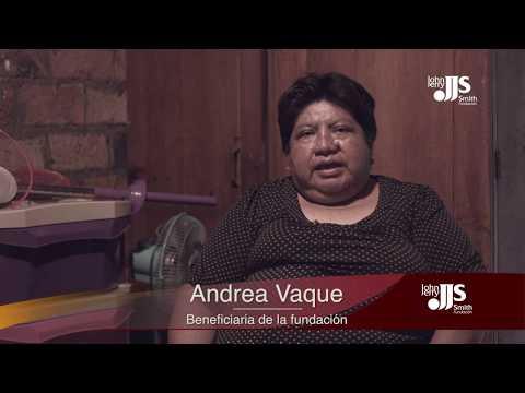 Andrea Vaque Fundacion JJS