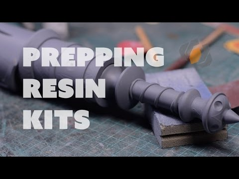 Prop: Shop - Prepping Cast Resin Kits for Painting