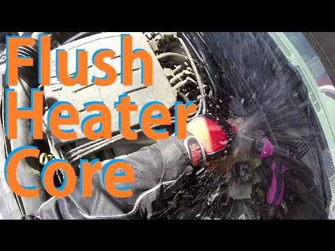how to flush heater core bu how to flush heater core bu