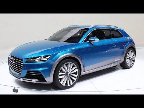 Audi all road shooting brake concept vehicle - Audi e-tron