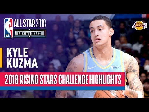 Kyle Kuzma Shines in 2018 Rising Stars Game | Presented by Mtn Dew Kickstart