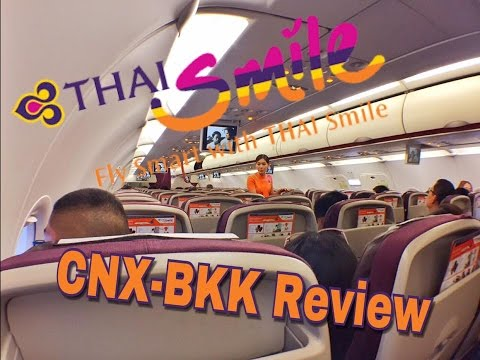 Review Thai Smile Chiangmai to Bangkok WE177