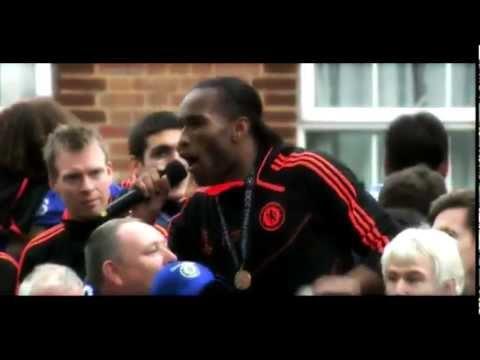 "Didier Drogba singing ""Super Frank"""