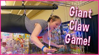 GIANT Claw Machine Win! Toys and YouTubers in Palm Springs
