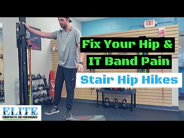 IT Band Pain Relief Exercise | Stair Hip Hikes