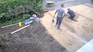 Timelapse Of Our Driveway Being Done by Abbey Paving