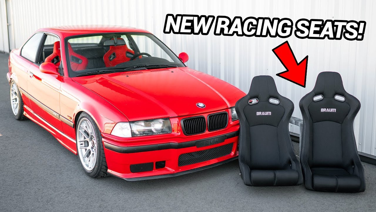 New Racing Seats For The E36 M3 Install Youtube