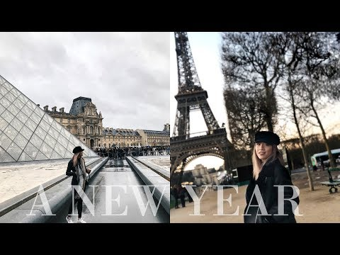 A New Year in Paris | IPHONE X CINEMATIC INSPIRATIONAL TRAVEL VLOG