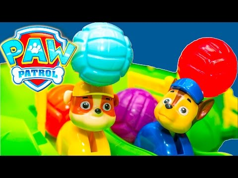 PAW PATROL Nickelodeon Pup Racers Game TheEngineeringFamily Family Game and Funny Kids Video