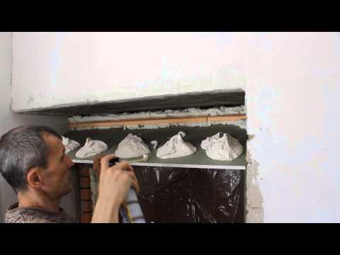 видео: Монтаж откоса из гипсокартона на входных дверях.