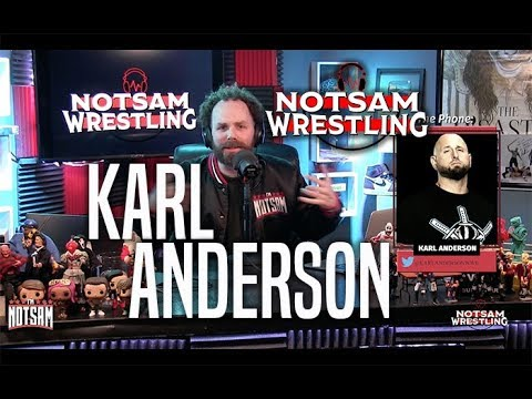 Karl Anderson - Staying in WWE?, Going Solo, AJ Styles, Bullet Club, etc - Notsam Wrestling