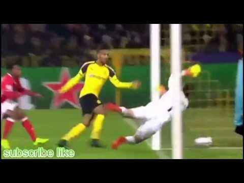 Download Pierre-Emerick Aubameyang GOAL Borussia Dortmund Vs Benfica (UEFA Champions league)