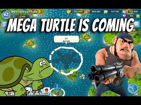Boom Beach Summery of New Updates   Mega Turtle Countdown   October 2017   No Mega Crab   Pvt Bullit