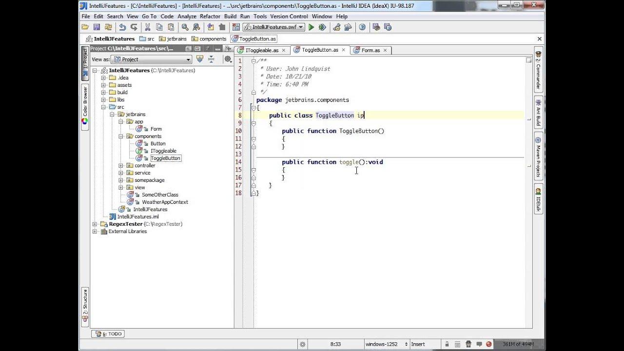 Intentions - Remove Unused Method (IntelliJ IDEA)