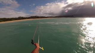 Kitefoil Maui P O V  3,5m Cloud Ride