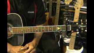 How To Play Nickelback PHOTOGRAPH On Guitar Lesson EricBlackmonMusic Capo 1